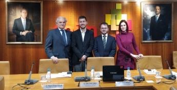 Miguel Ángel García, viceconsejero de Hacienda y Empleo de la Comunidad de Madrid, interviene en CEIM