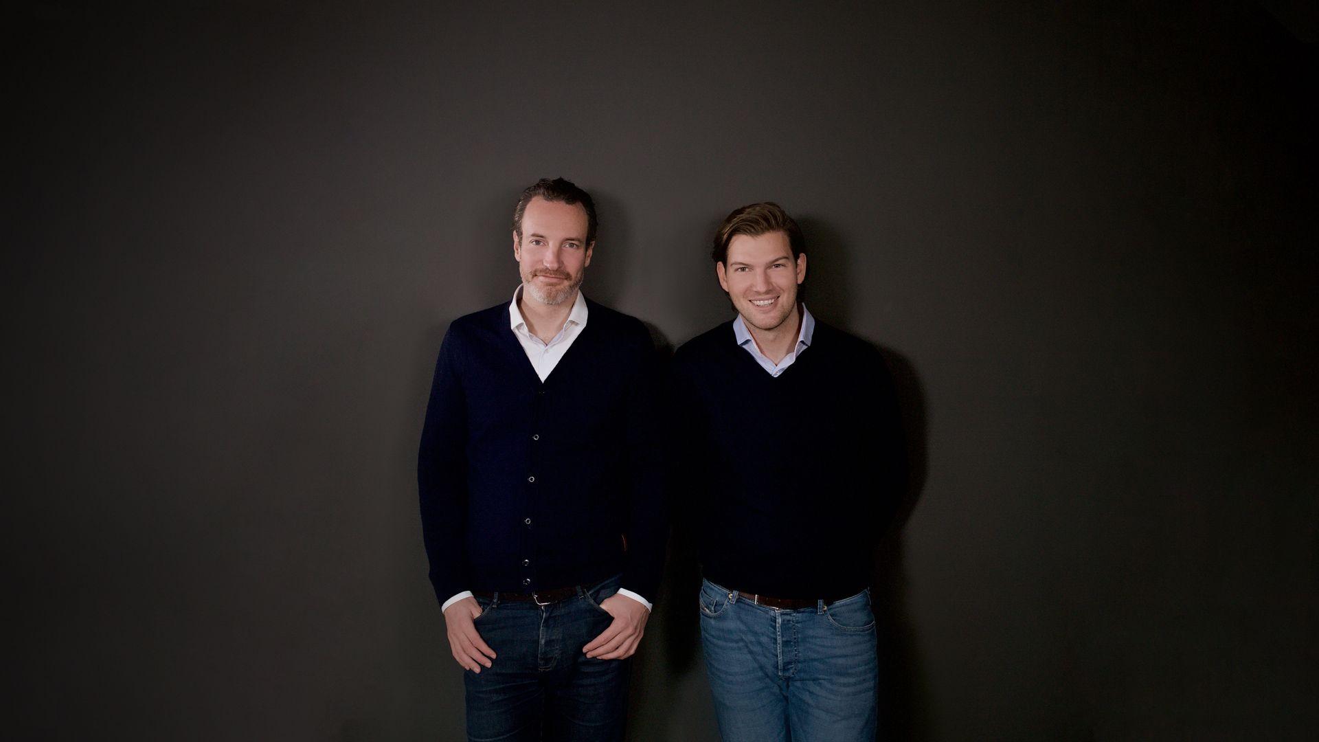 Foto de Maximilian Tayenthal y Valentin Stalf