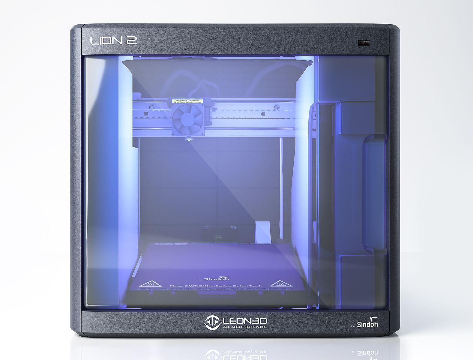 """La mejor impresora 3D del mundo, la nueva  """"LION 2""""."""
