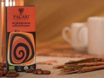 Pacari Chocolate en Polvo con Canela