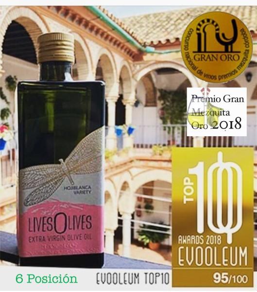 LivesOlives Bio recibe dos prestigiosos premios internacionales