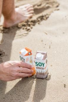 YOSOY presentará un nuevo formato de bebidas vegetales en Alimentaria 2018