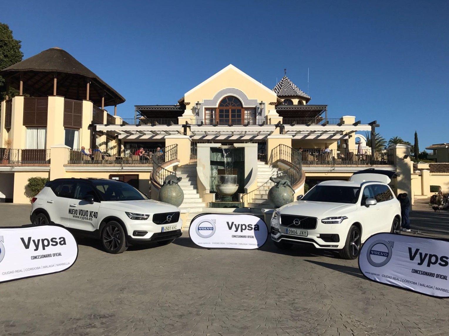 Foto de Acuerdo de colaboracion entre Volvo-Vypsa y Los Naranjos Golf