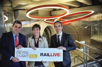 Presentación de Live Rail