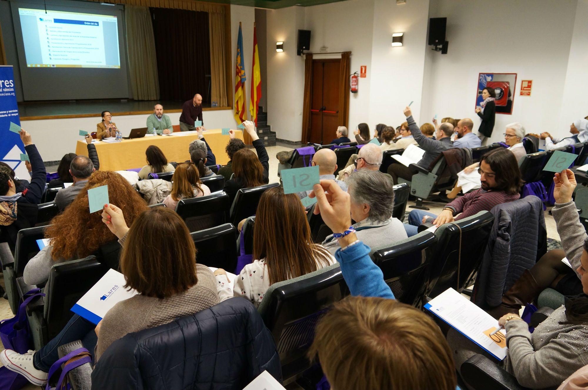 Foto de Asamblea Lares CV 2018