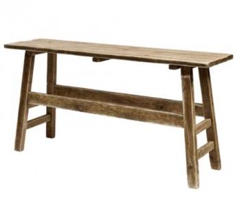 """Foto de Mesa de madera de pino envejecida y """"lavada"""". Sandra"""