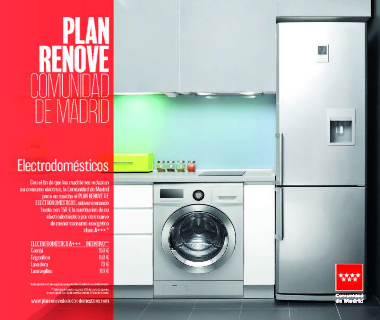 Foto de Cartel Plan Renove Comunidad de Madrid