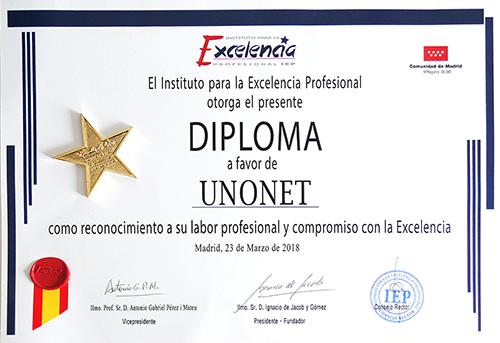 Fotografia Diploma a la Excelencia en Publicidad y Marketing online