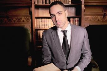 Foto de El escritor y abogado José Manuel del Río, autor de 'La