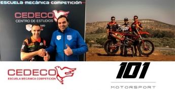 Cedeco y 101 Motorsport, unidos en la formación en mecánica de motos de competición