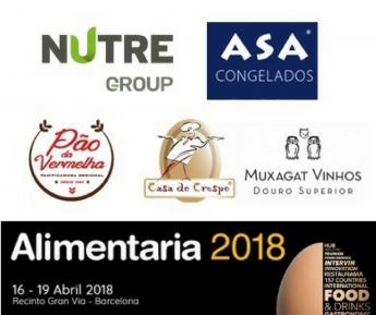 Nutre, Asa Congelados, Pão de Vermelha, Casa do Crespo y Muxagat en Alimentaria 2018