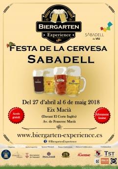 El equipo de Oktoberfest Barcelona y Eventop Carpas celebrarán la primera edición del Biergarten Experience Sabadell 2018