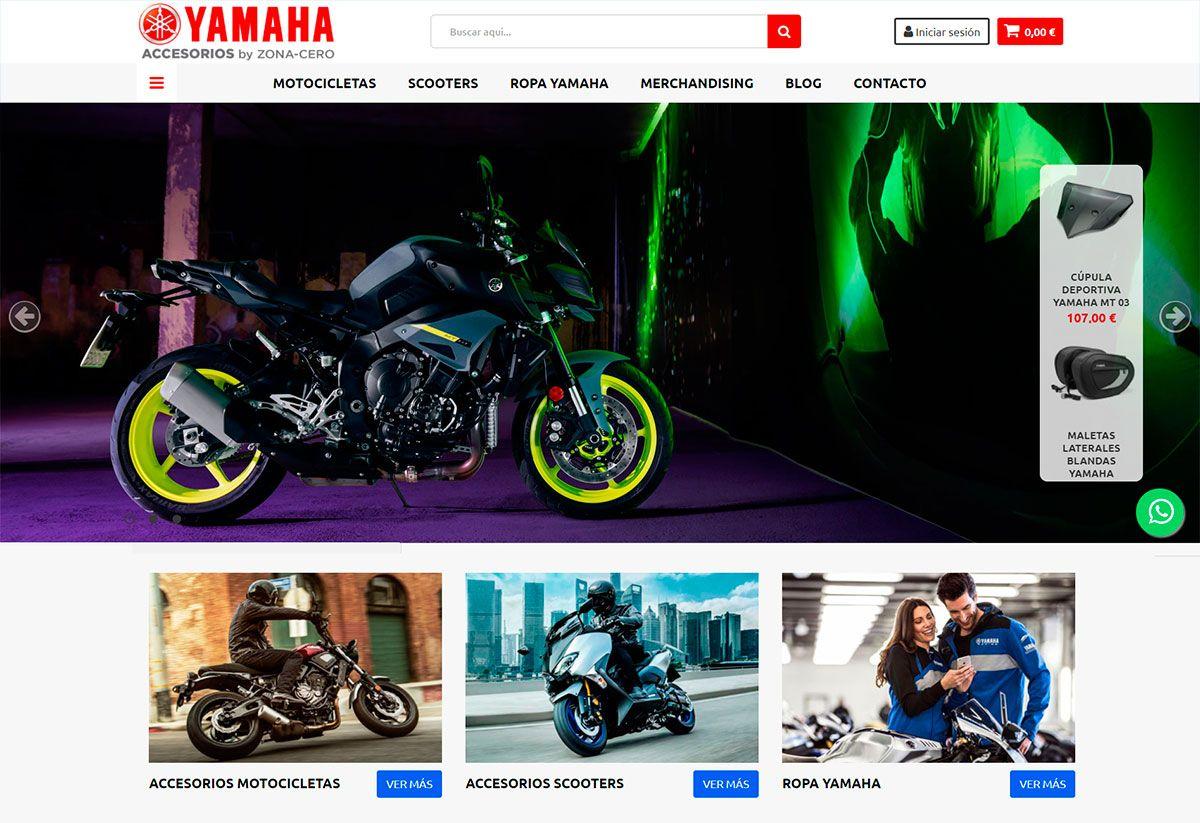 Fotografia Accesorios Yamaha
