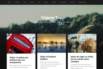 Viajerotop.es, un nuevo blog sobre viajes