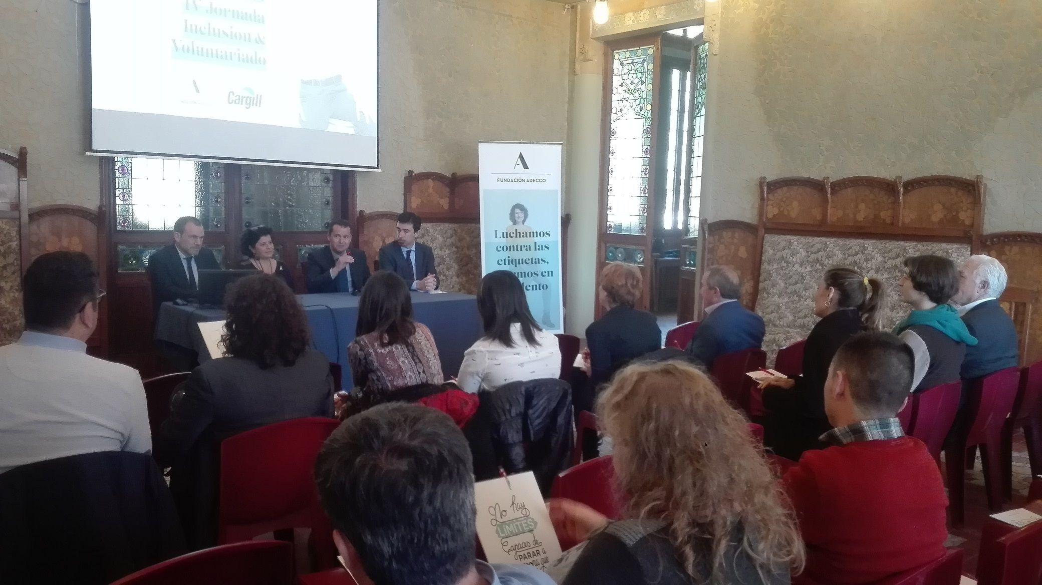 Foto de Jornada Cargill y Fundación Adecco