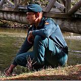 Fotografia José Antonio Gila, Teniente de la Guardia Civil.
