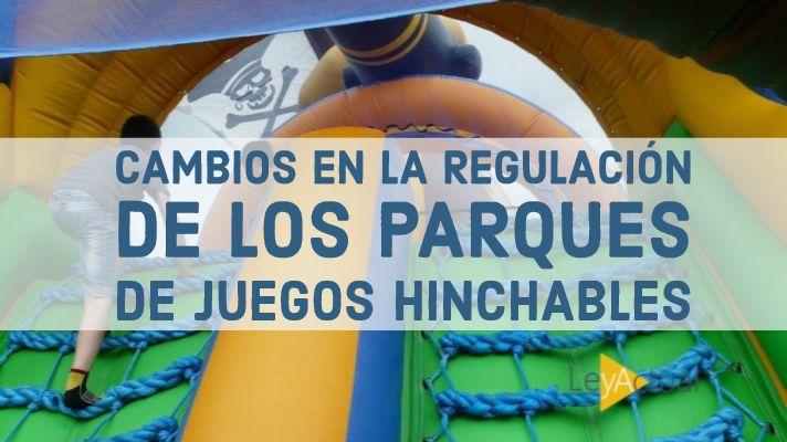 Foto de Regulación parques de juegos hinchables