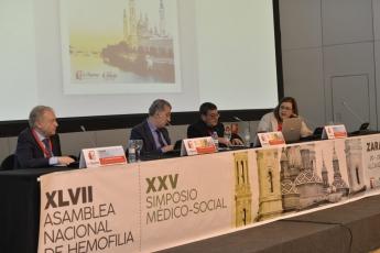 XXV Simposio Médico-Social y XLVII Asamblea Nacional de Hemofilia