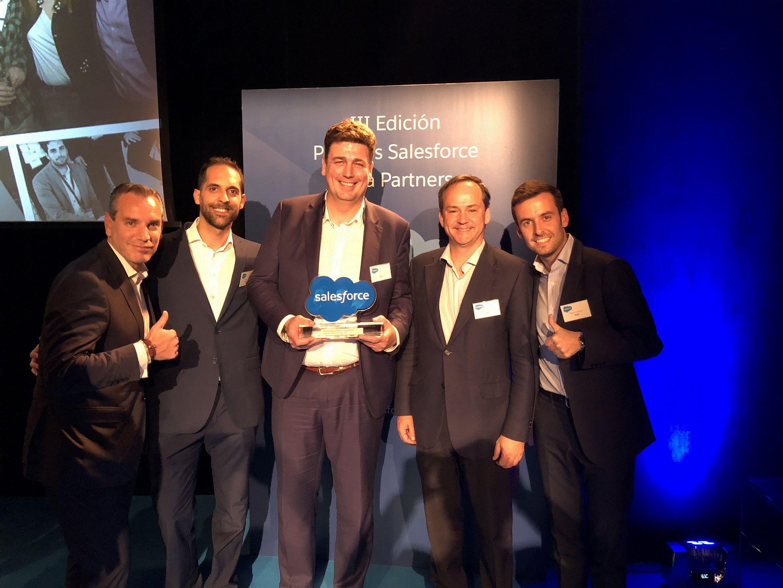 Salesforce premia a VASS por su diversidad de soluciones para Banca