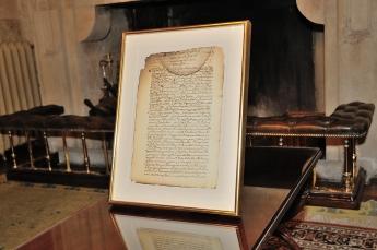 Documento procedente de los fondos documentales del Conde Duque de Olivares titulado 'Relación de cómo fue hallada la Madre Tere