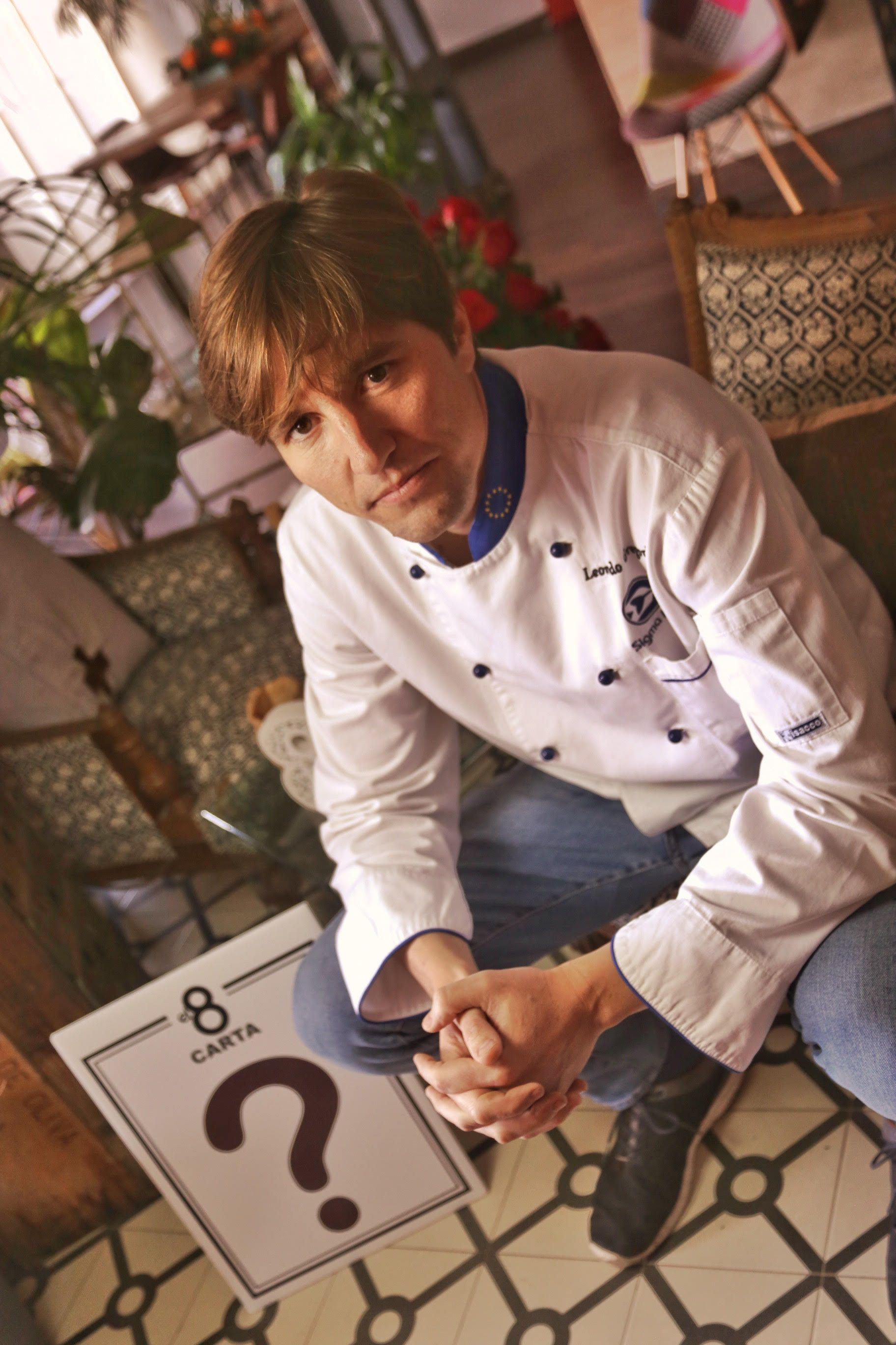 Fotografia El chef murciano Leonardo Gregorio Crespo.