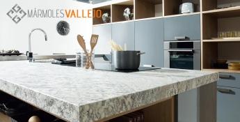 Mármoles Vallejo propone un mundo de ideas para encimeras de cocina o baño