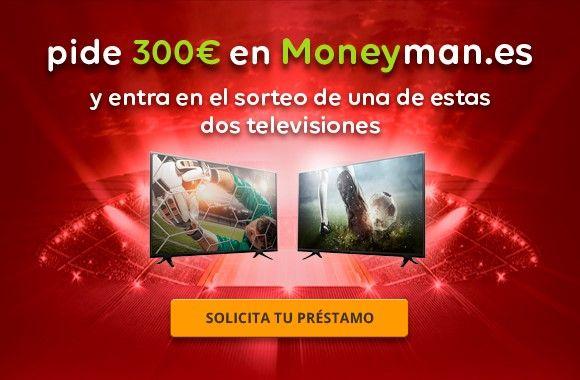 MoneyMan.es sortea 2 televisiones durante el Mundial de Rusia 2018
