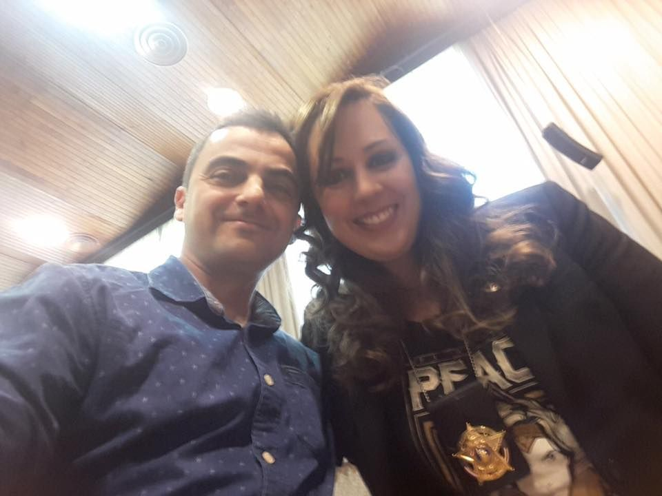 Fotografia Alfon Bañeres y la Dra Núria Querol