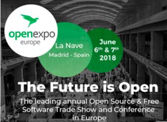 Formación de primer nivel de la mano de OpenExpo Europe 2018