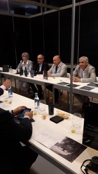 Morainsa abre la jornada inaugural del Salón de Gourmets con una cata comentada de aceite Ornal