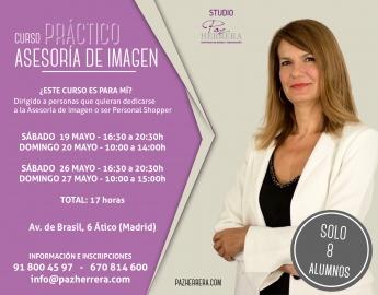 Curso práctico de Personal Shopper y Asesoría de Imagen con Paz Herrera