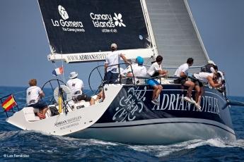 El Adrián Hoteles estrena temporada en la Sail Racing PalmaVela