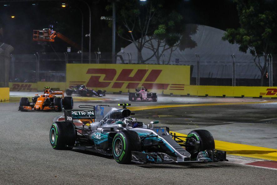 Foto de DHL socio logístico de la F1