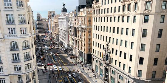 Foto de Espectaculares vistas del centro de Madrid