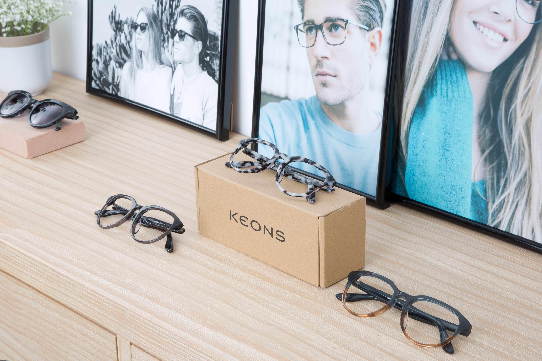 Foto de KEONS, gafas graduadas de alta tecnología