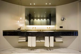 Coblonal Interiorismo reforma el baño de la suite presidencial del Hotel Fairmont Rey Juan Carlos I