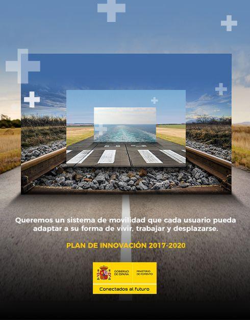 Fotografia Plan de Innovación 2017/2020. Ministerio de Fomento