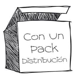 Fotografia Logo Con Un Pack Distribución
