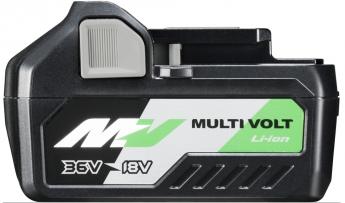 Adaptabilidad total con la nueva generación de baterías Multi Volt de Hitachi Power Tools / HiKOKI