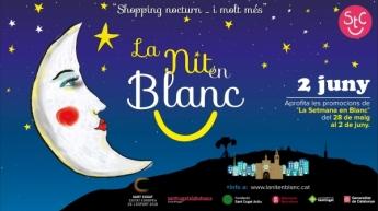 Sant Cugat Comerç prepara una nueva edición de La Nit en Blanc