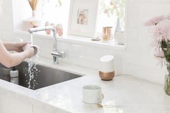Google Home baño