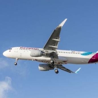 Eurowings bate un nuevo récord: 100.000 pasajeros en un solo día