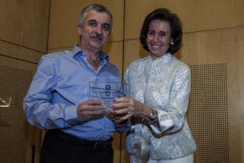 Foto de Yaarub Akram recibe el accésit en la XIV Edición del premio