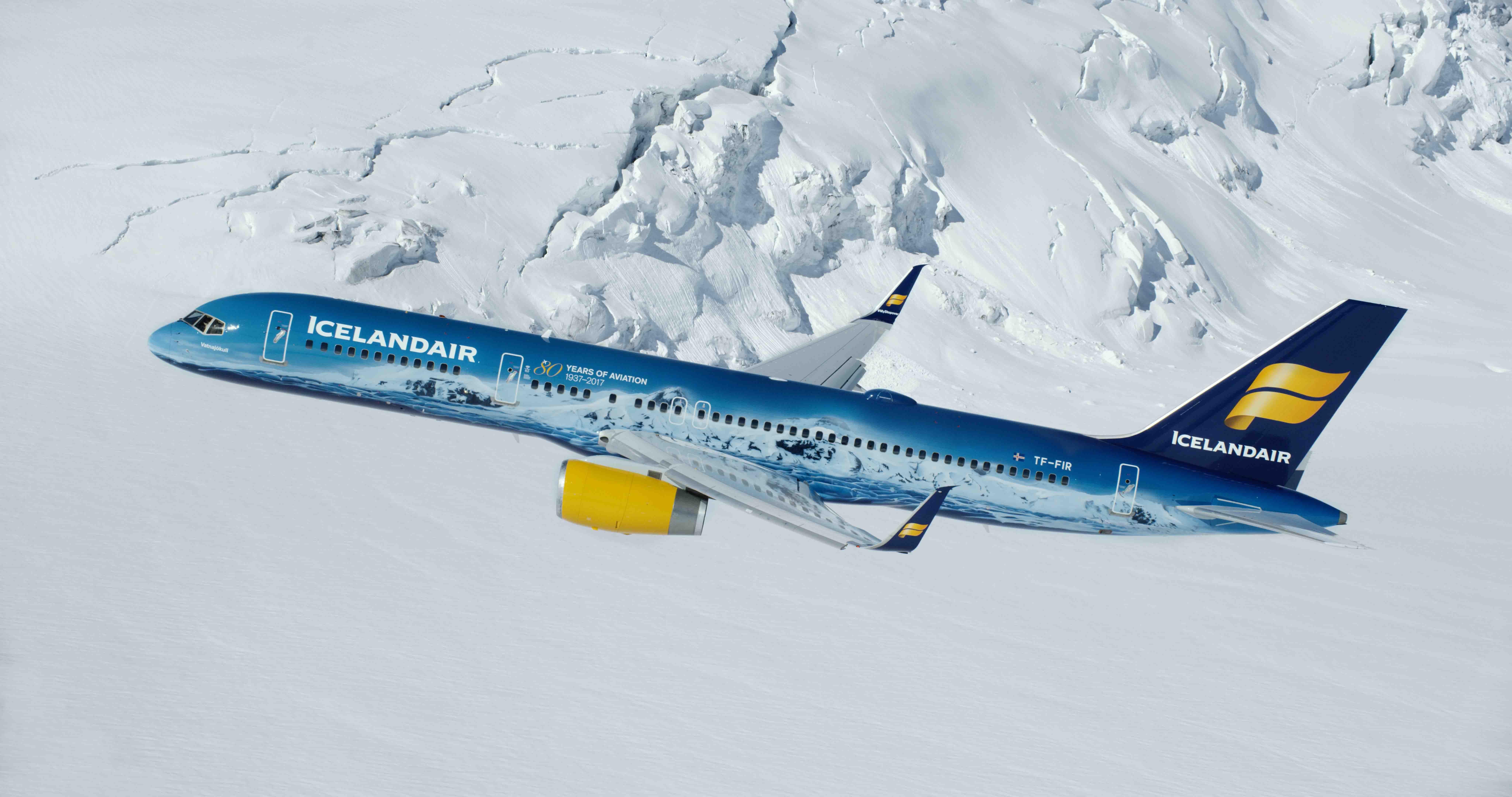 Fotografia Avión Vatnajókull