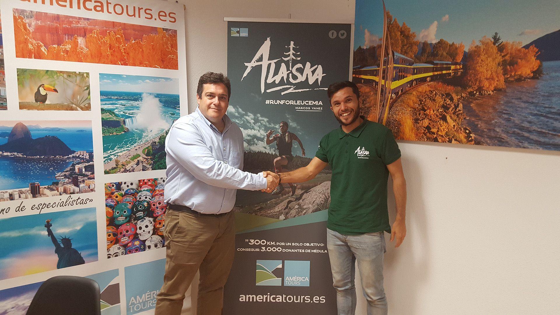 Foto de Island Tours y Marcos Yánez, reto en Alaska para promover