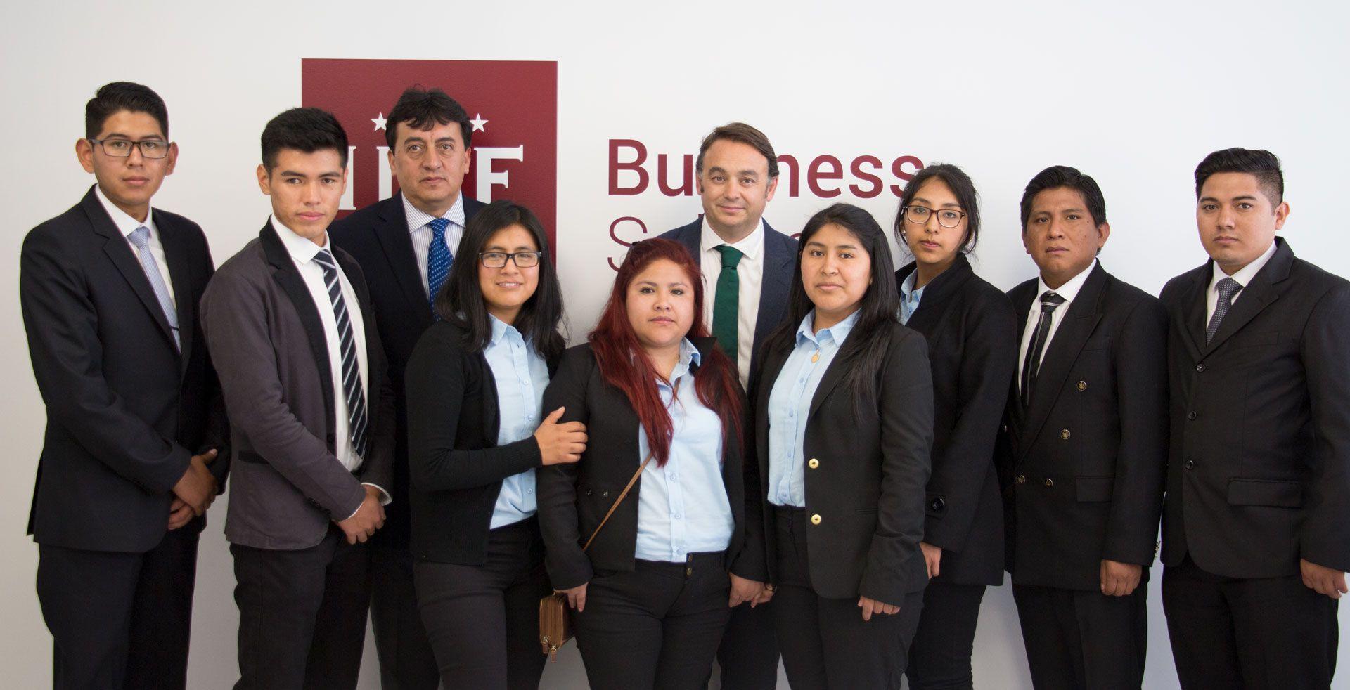 Foto de De Bolivia a España gracias a un MBA