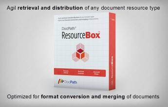 Mejoras importantes en la solución de software documental ResourceBox de DocPath