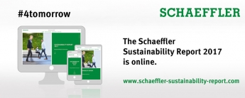 Foto de Informe de Sostenibilidad online Schaeffler 2017