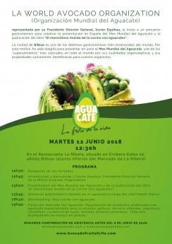 World Avocado Organization presenta el mes mundial del aguacate con la campaña 'Aguacate, fruta de la vida'