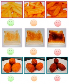 Foto de Alimentos quemados
